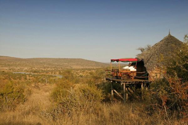 8- A Cama Estrela Kiboko – Deserto de Loisaba (Laikipa, Kenya)