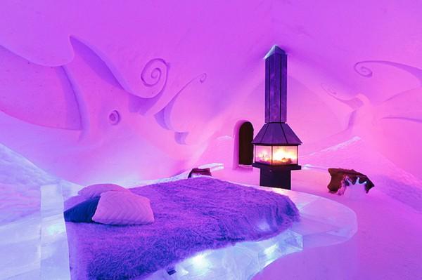 9- Ice Suite – Hôtel de Glace (Quebec, Canadá)