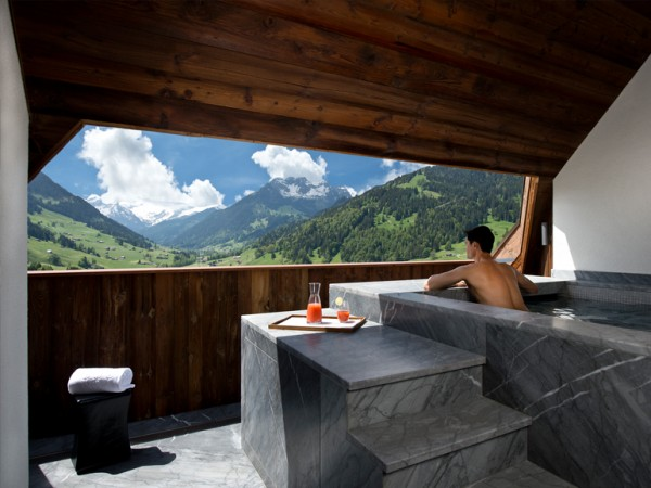10- Suite Panorama – The Alpina Gstaad (Gstaad, Suíça)