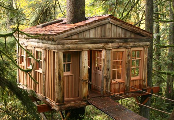 12- O Templo da Lua Azul – TreeHouse Point (Fall City, Washington)