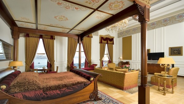 13- A Suite do Sultão – Ciragan Palace Kempinski (Istambul, Turquia)