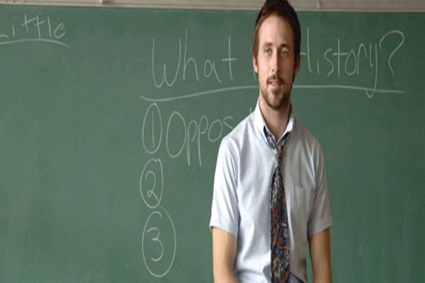 O jovem professor