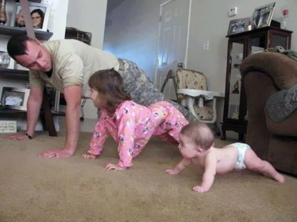 4- Ser um bom exemplo de atividade física