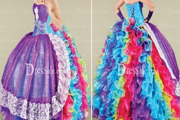 Você gosta de um vestido colorido, né?