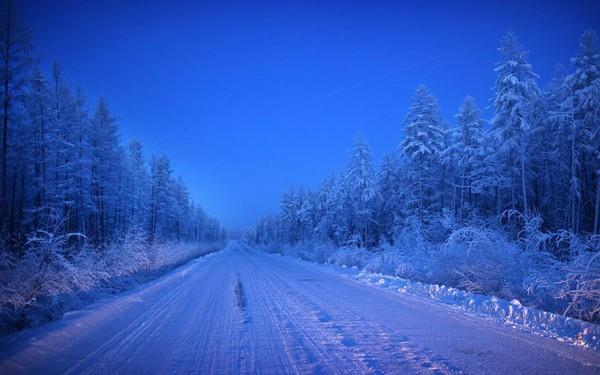 "A ""estrada dos Ossos"" é a única maneira de chegar ao Oymyakon."