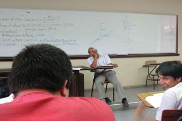 O professor preguiçoso