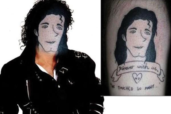 Tatuagem do seu artista favorito