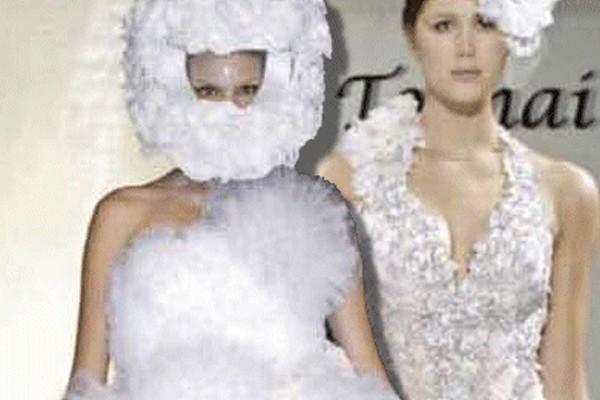 Se você tem algo a dizer sobre esse vestido, fale agora ou cale-se para sempre!