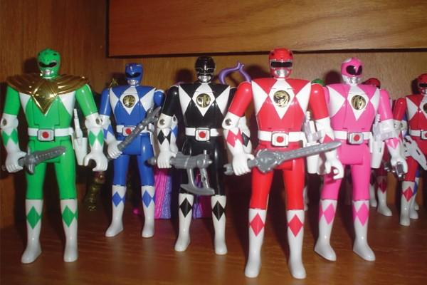 Boneco de Power Ranger