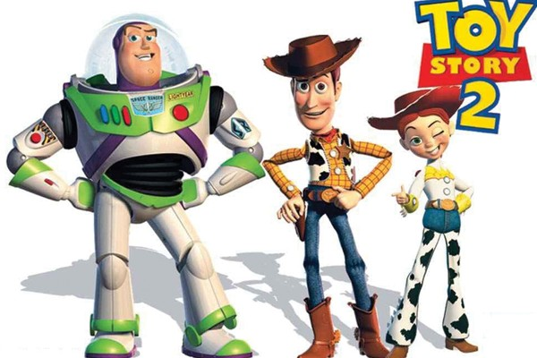 Woody, Jessie e Buzz