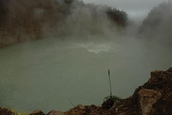 Lago Fervente - Ilha de Dominica
