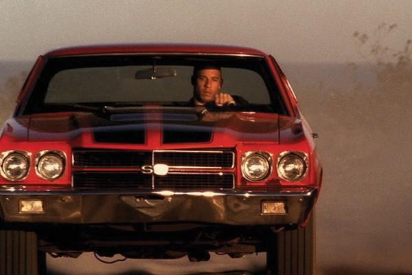 Vin Diesel deu o Chevelle Red que ele dirige nos filmes à sua filha