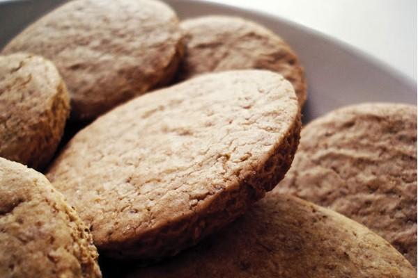 Biscoitos de Trigo Integral
