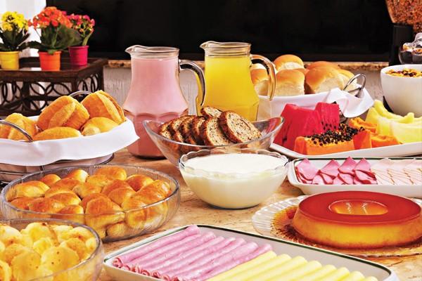 Café de manhã na cama