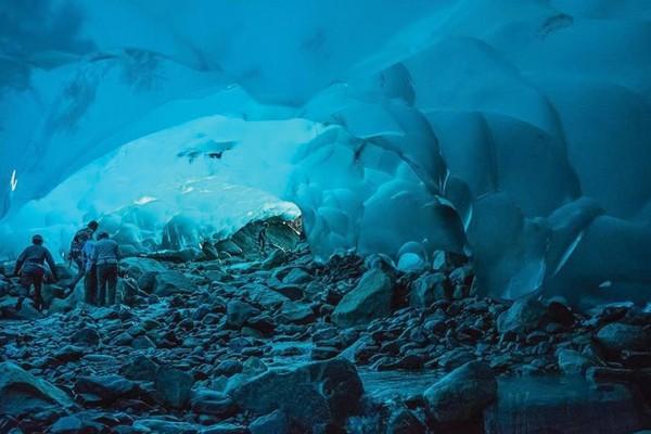 Glaciar Mendenhall, EUA