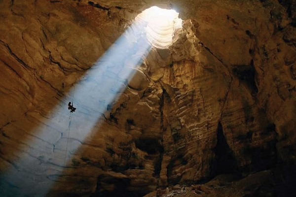 Caverna Ellison, EUA