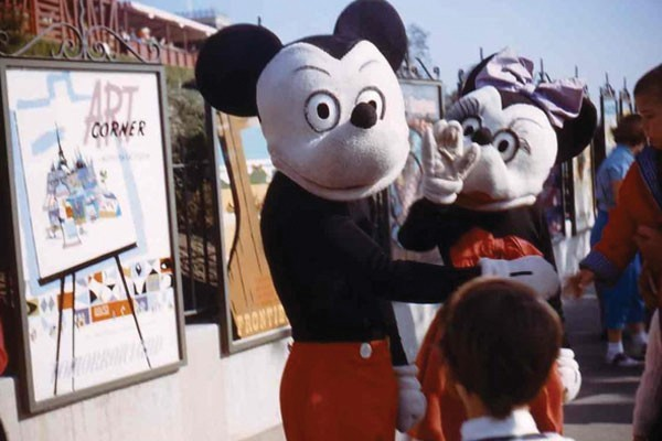 Mickey e Minnie Mouse