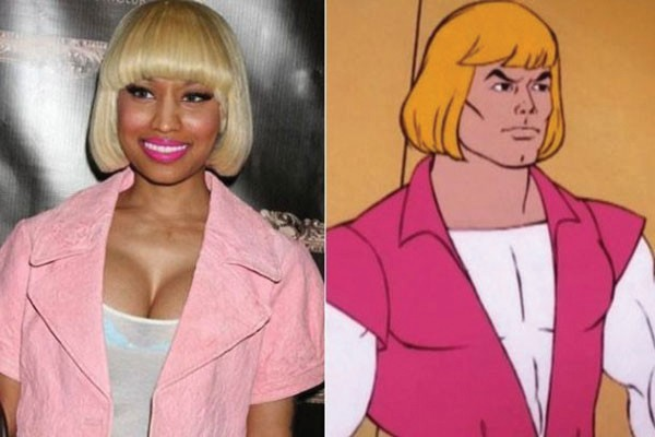 Nicki Minaj com He-Man