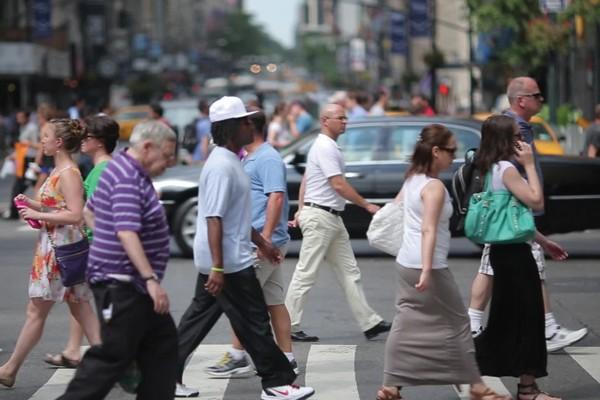 Medo de atravessar a rua