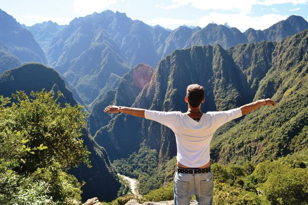 Trilha Inca em Macchu Pichu