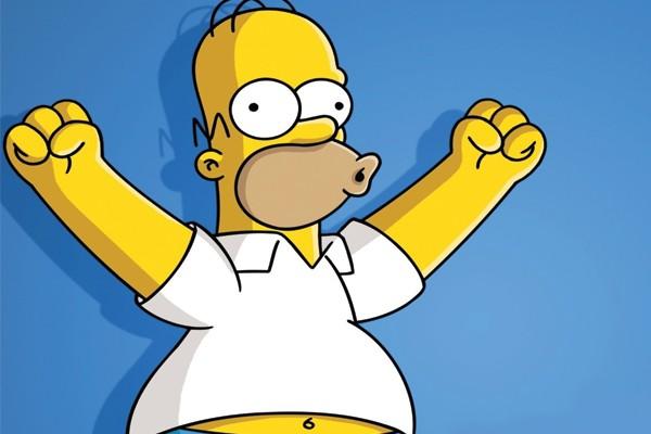 A voz de Homer é a mais baixada para GPS!