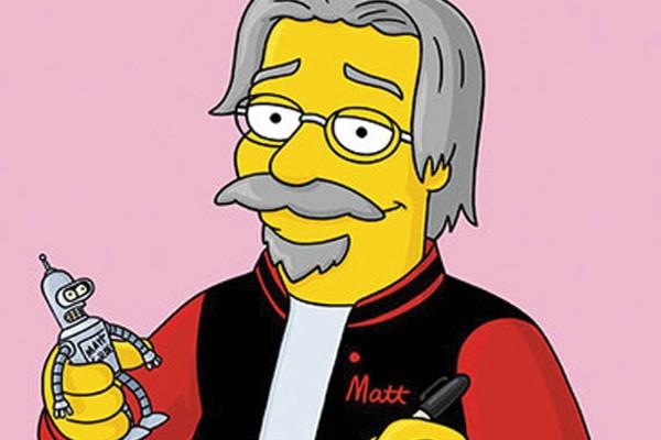 Os Simpsons foram inspirados na família de Matt Groening!