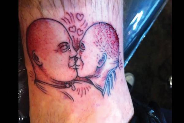 Tatuagem feia, feia, feia