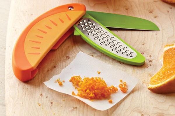 Faca para descascar frutas