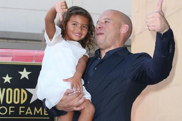 Vin Diesel é um pai coruja
