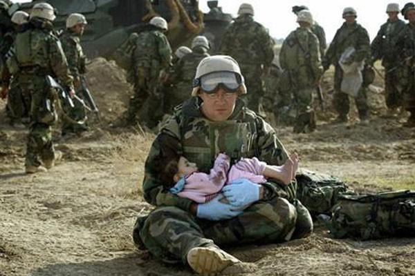 Cuidando de uma criança