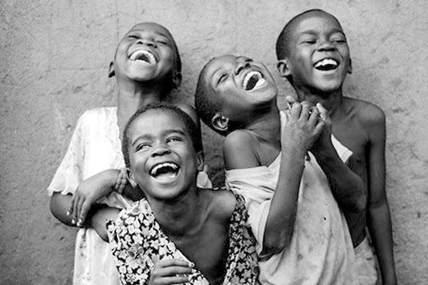 A felicidade dessas crianças