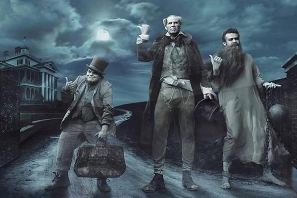 Jack Black, Will Ferrell e Jason Segel como os Três Fantasmas