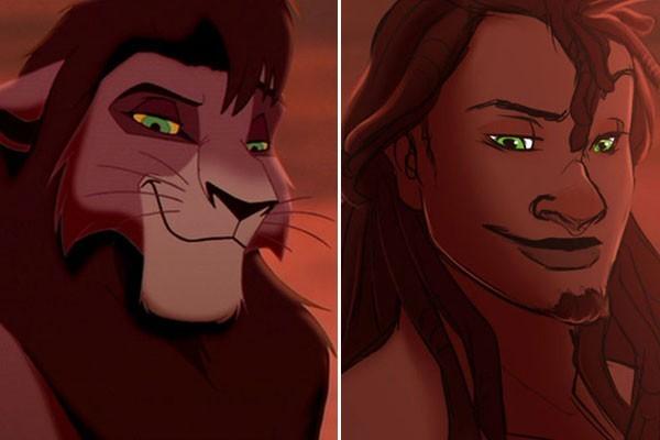 Kovu- O Rei Leão