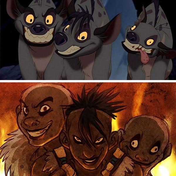 Hienas - O Rei Leão