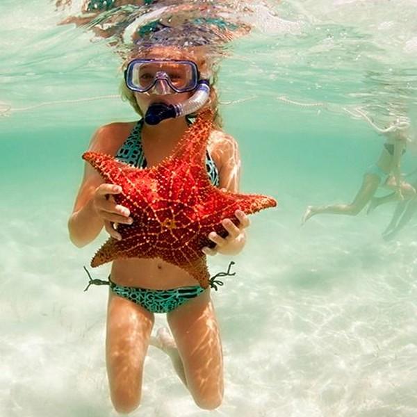Fazer snorkel