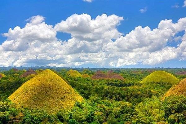 Ver os Chocolate Hills em Bohol