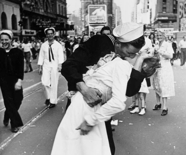 O beijo da Times Square