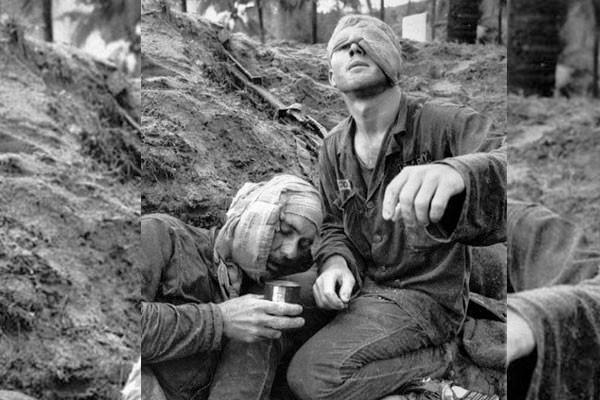 Soldados feridos