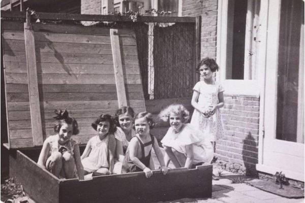 Década de 1940 Anne Frank