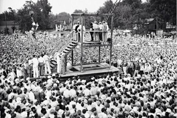 1936 Última execução pública nos Estados Unidos