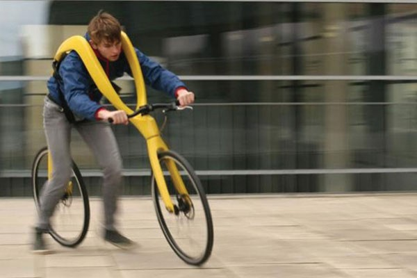 Bicicleta sem pedais