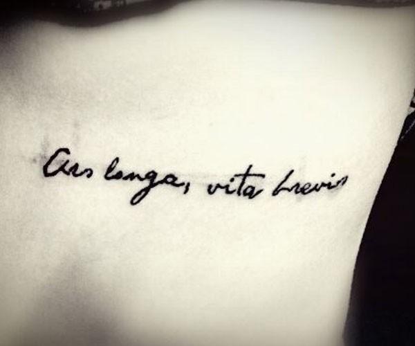 20 Tatuagens Em Latim E Seu Significado Mundo Br