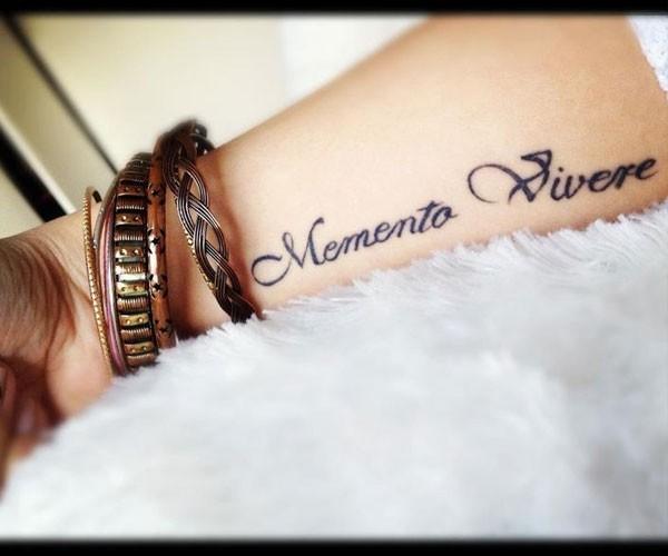 Memento vivire