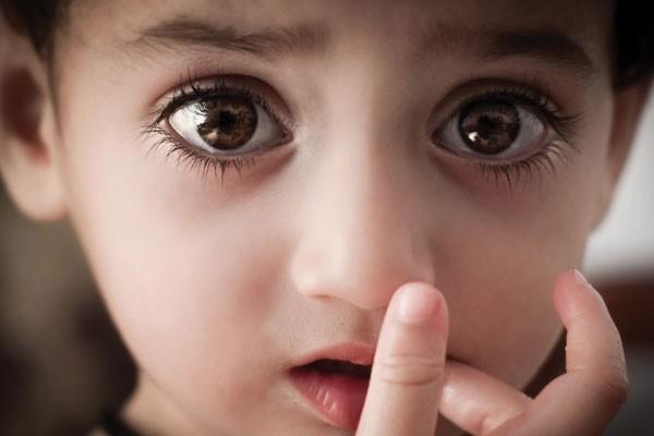 O menino com os olhos mais lindos