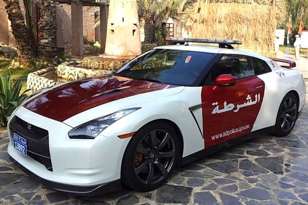 Nissan GT-R - Abu Dhabi