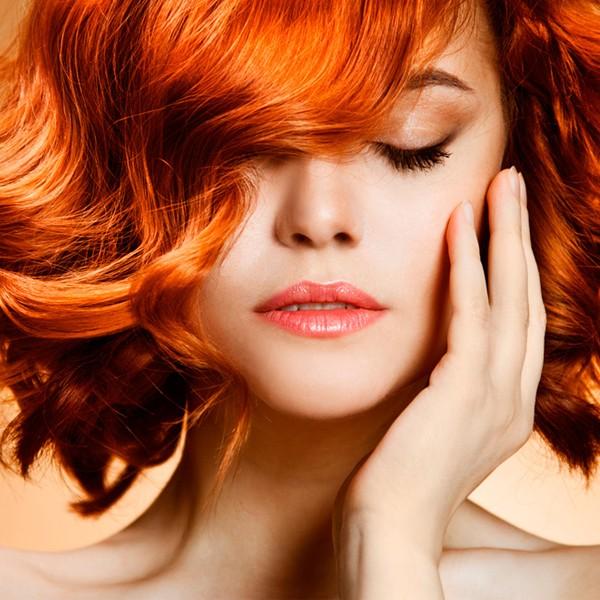 O cabelo ruivo natural é mais difícil de tingir do que outras cores