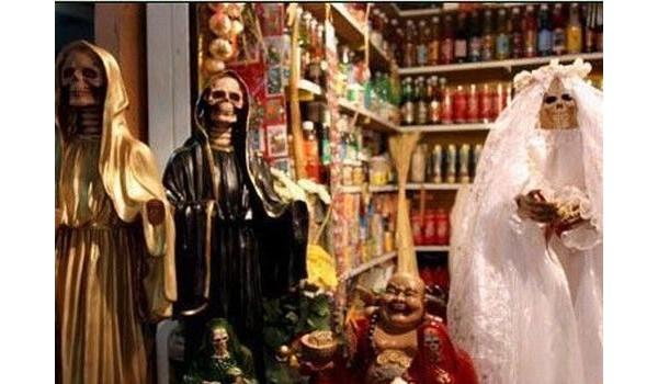 Mercado da bruxa, no México
