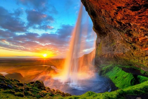 Cachoeira Seljalandsfoss, Islândia