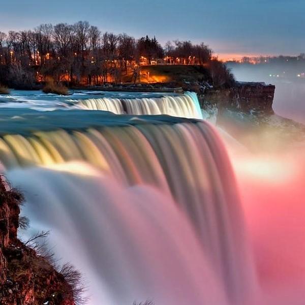 Cataratas do Niágara, NY, Estados Unidos e Ontário, Canadá