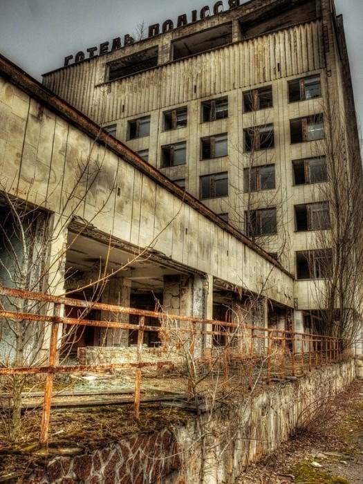 Tempo em Chernobyl